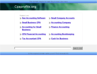 cpaprofits.org screenshot