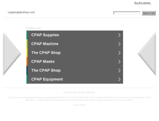 cpapsupplyshop.com screenshot