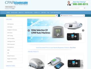 cpapwholesale.com screenshot