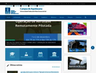 cpaq.ufms.br screenshot