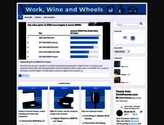 cparente.wordpress.com screenshot
