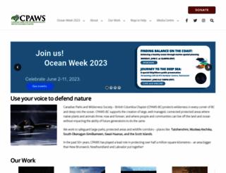 cpawsbc.org screenshot