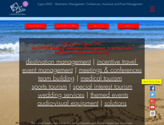 cpc-events.com screenshot