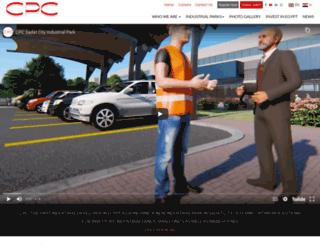 cpcegypt.org screenshot