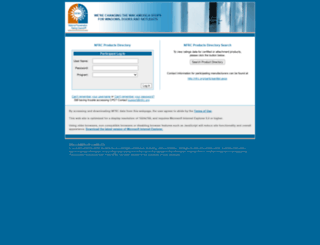 cpd.nfrc.org screenshot