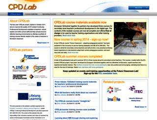 cpdlab.eun.org screenshot