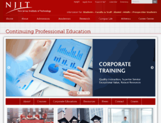 cpe.njit.edu screenshot