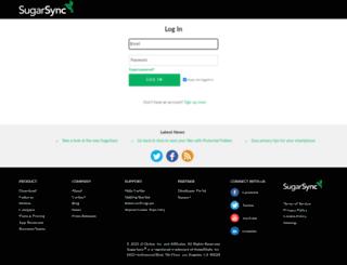 cperdomo.sugarsync.com screenshot