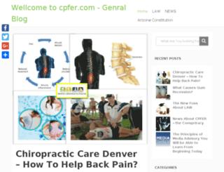 cpfer.com screenshot