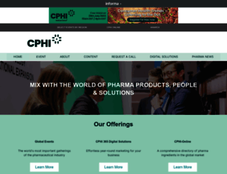 cphi.com screenshot