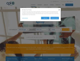 cplhealthcare.com screenshot