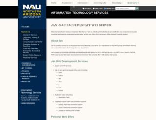 cpluhna.nau.edu screenshot