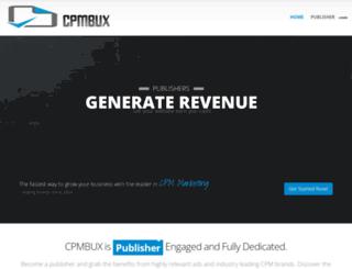 cpmbux.com screenshot