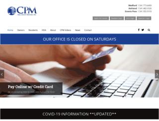 cpmrealestateservices.com screenshot