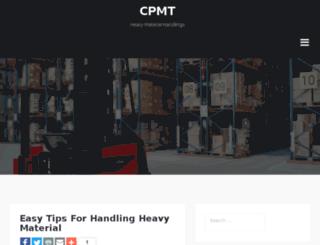 cpmtsudan.org screenshot