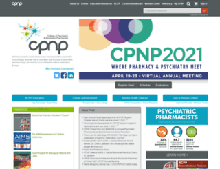 cpnp.org screenshot