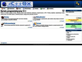 cpp0x.pl screenshot