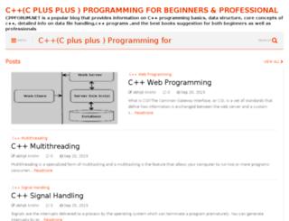 cppforum.net screenshot