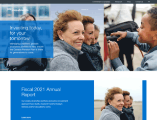 cppib.ca screenshot