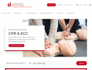 cpr.heart.org screenshot