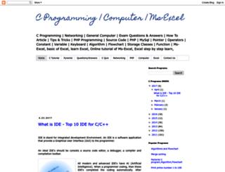 cprogrammingcodes.blogspot.com screenshot