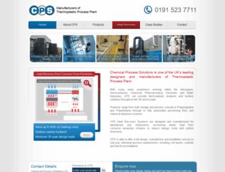 cps-plastics.co.uk screenshot