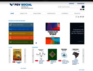 cps.fgv.br screenshot