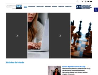 cpscba.org.ar screenshot