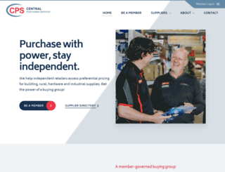 cpshardware.com.au screenshot