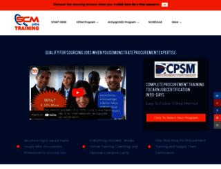 cpsmtraining.com screenshot