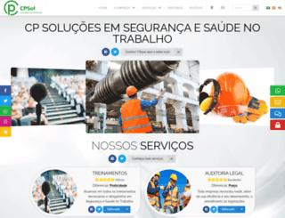 cpsol.com.br screenshot