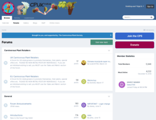 cpukforum.com screenshot