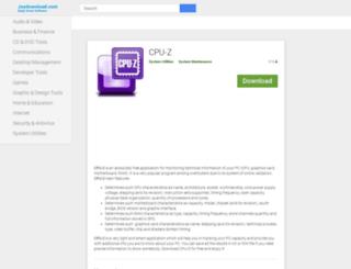 cpuz.joydownload.com screenshot