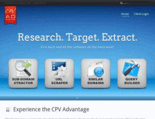 cpvadvantage.com screenshot