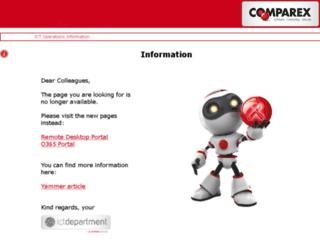 cpxportal.comparex-group.com screenshot