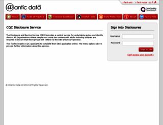 cqchr.disclosures.co.uk screenshot