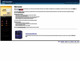 cqcounter.com screenshot