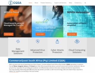 cqsa.co.za screenshot