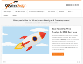 cquinndesign.com screenshot