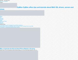 cqwen.com screenshot