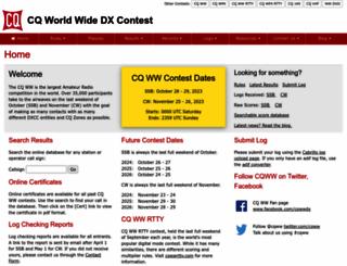 cqww.com screenshot