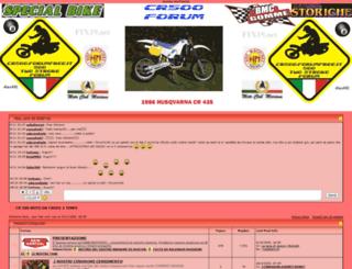 cr500.forumfree.it screenshot