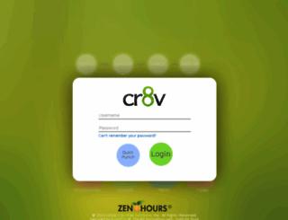 cr8v.zenhours.com screenshot