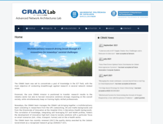 craax.upc.edu screenshot