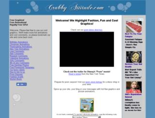 crabbyattitude.com screenshot