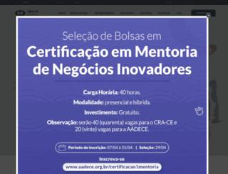 craceara.org.br screenshot