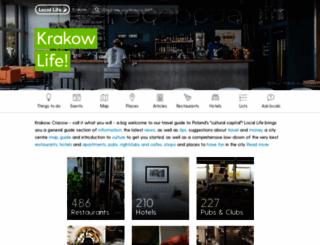 cracow-life.com screenshot