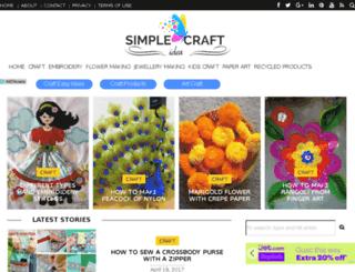 craft.easyfreshideas.com screenshot
