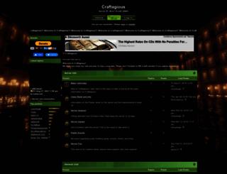 craftagious.canadian-forum.com screenshot