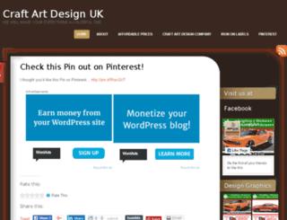 craftartdesignuk.wordpress.com screenshot